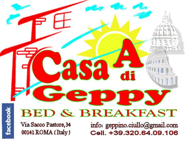 Bed and breakfast roma a casa di geppy b b roma for Piani di casa bed and breakfast